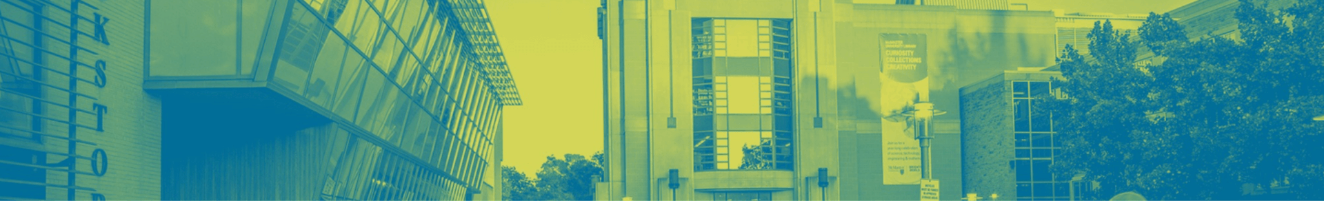 Modern McMaster campus buildings